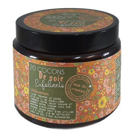 Cocon de soie Exfoliants