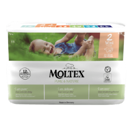 MOLTEX Pure & Nature - Newborn 2-4kg
