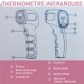 THERMOMETRE Frontal sans contact JUMPER